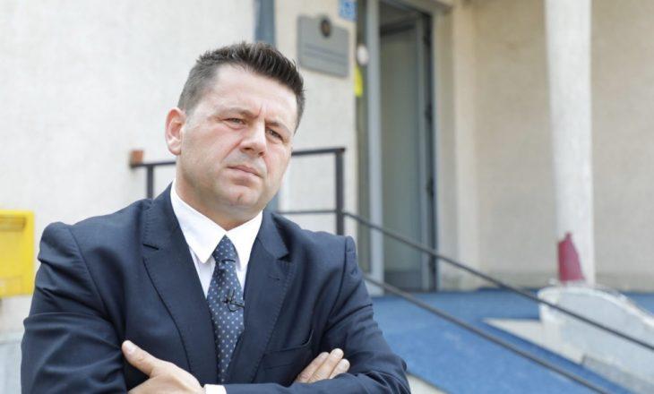 Bekë Berisha: Largone orën policore