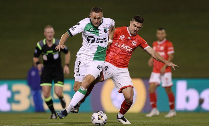 Besart Berisha shënon gol për Western United në kampionatin australian
