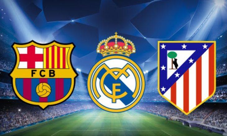 """""""Betejë e ashpër"""" për titull në La Liga"""