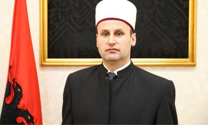 Kryemyftiu i Shqipërisë reagon pas plagosjes së besimtarëve në xhami