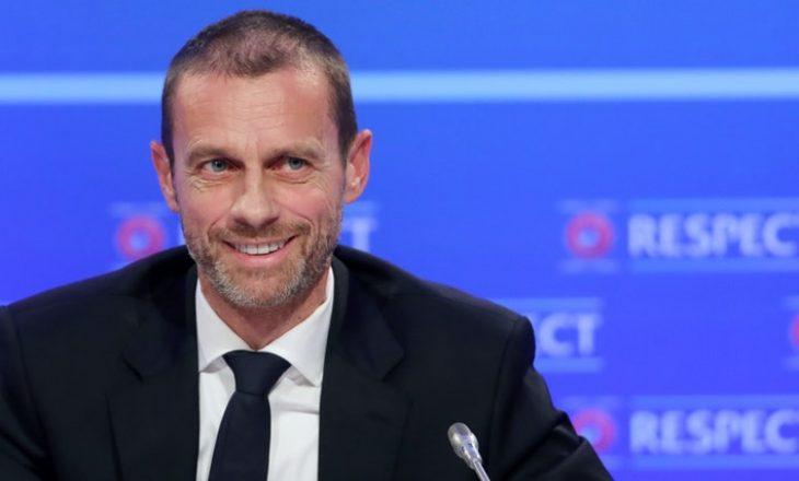 Reagon presidenti i UEFA-së pas lajmit se City u tërhoq nga Super Liga Europiane