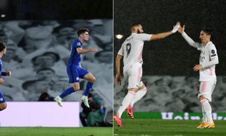 Mbyllet pjesa e parë në barazim mes Realit dhe Chelseat