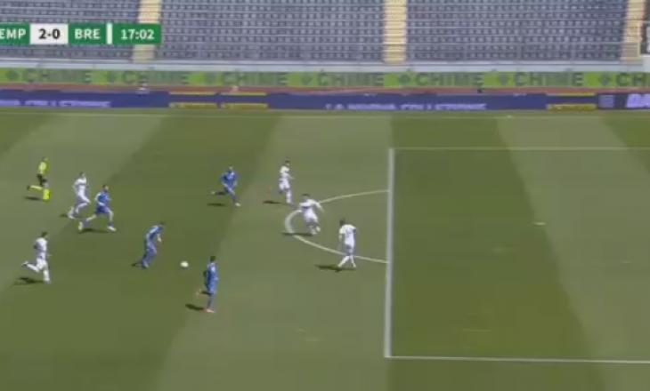 Bajrami shënon gol në fitoren e Empolit në Serie B
