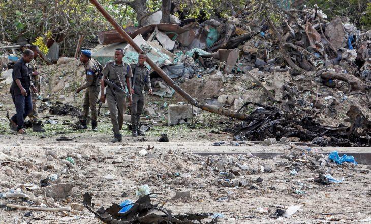 Nga një sulm me bombë, katër ushtarë kanë humbur jetën në Somali