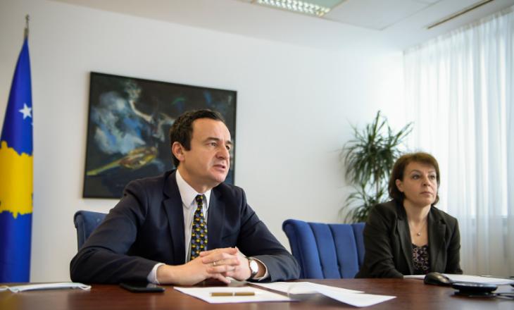 Kurti njofton udhëheqësit e misioneve diplomatike të BE-së me prioritetet e Qeverisë