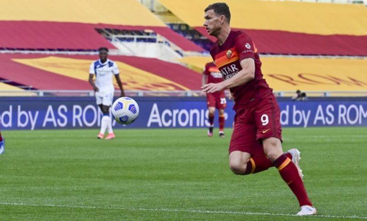 Dy gola të shënuar, dy kartonë të kuq – Roma vs Atalanta mbyllet në barazim