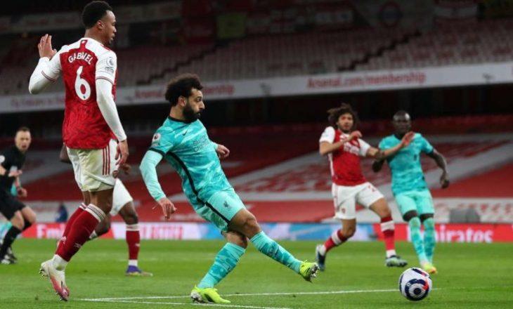 Liverpool fiton ndaj Arsenalit në Londër