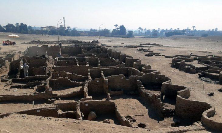 Një qytet 'i zbuluar' në Egjipt