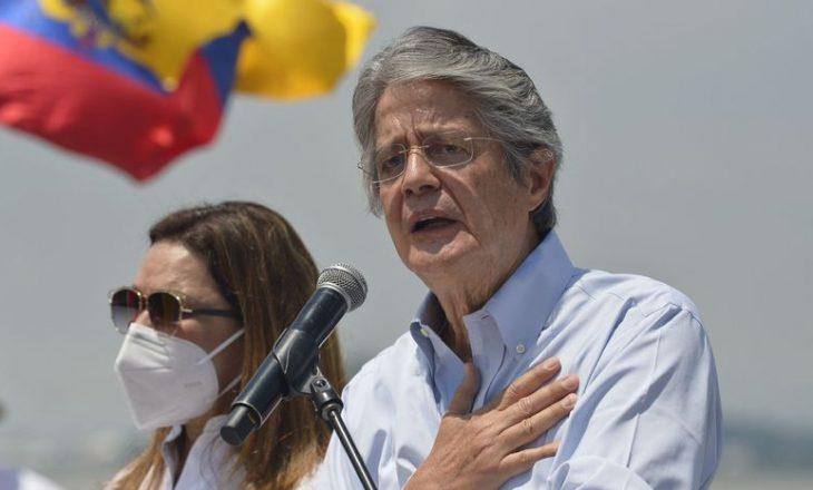 Guillermo Lasso është president i ri i Ekuadorit