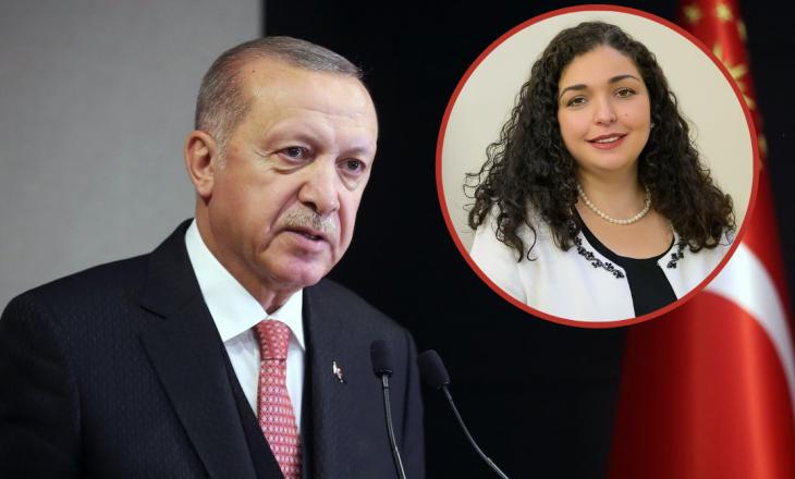 Erdogan uron Vjosa Osmanin