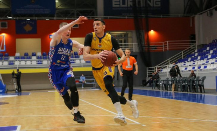 Golden Eagle Ylli mposht Sigal Prishtinën, kalon në gjysmëfinalen e Ligës Unike