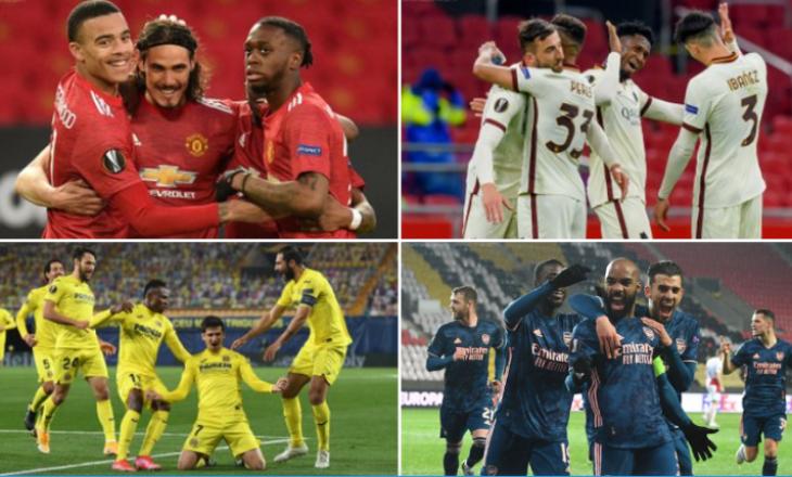 Caktohen ekipet gjysmëfinale në Europa League