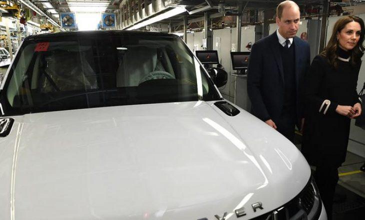 """Del në ankand makina mbretërore """"Range Rover"""" e Princit William dhe Kate Middleton"""