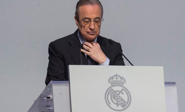 Florentino Perez konfirmohet si president i Realit të Madridit, fiton mandatin e gjashtë në krye të klubit