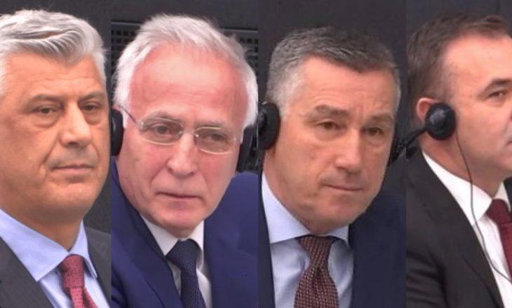 Thaçit dhe të tjerëve u refuzohet kërkesa për lirim të parakohshëm