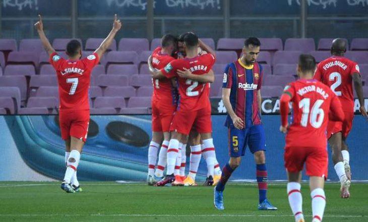 """Granada befason Barcelonën në """"Camp Nou"""", katalunasit bëjnë hap mbrapa në luftën për titull"""