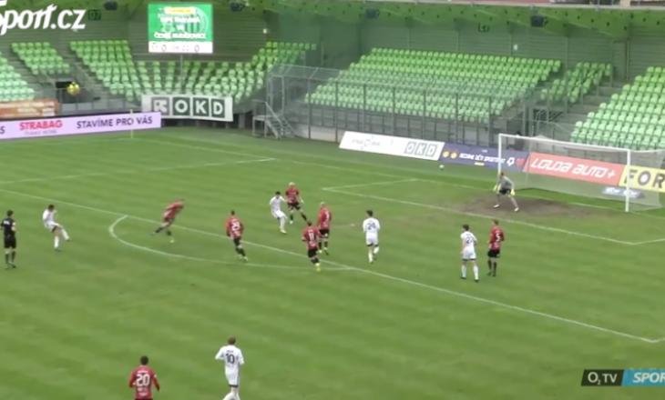 Kristi Qose shënon gol në fitoren e Karvinës në Çeki