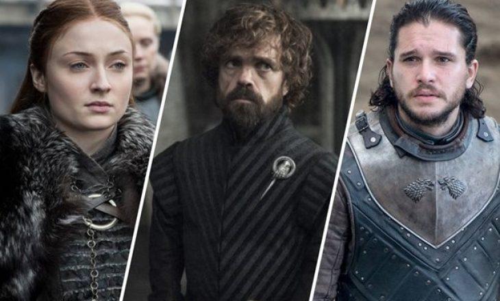 """Sa fitonin aktorët e """"Game of Thrones"""" për çdo episod?"""