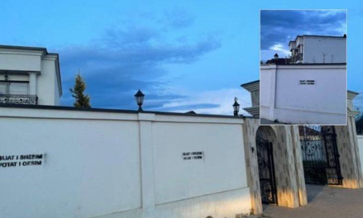 'Ping pong' akuzash mes LVV-së e PDK-së pas shkrimit të grafiteve fyese në shtëpinë e Graincës