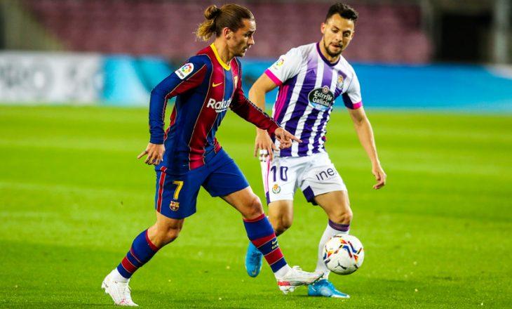 Barcelona fiton mes vuajtjeve kundër Valladolid