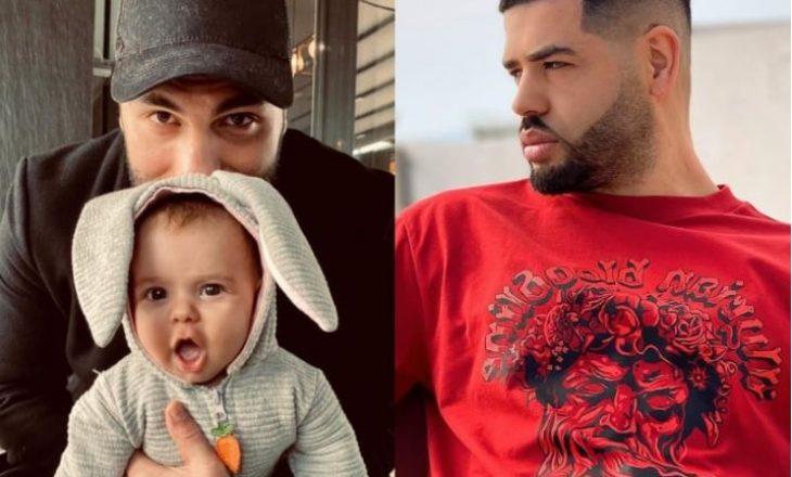 Dikur ishin rivalë – Noizy i dërgon dhuratë vogëlushes së Ledrit