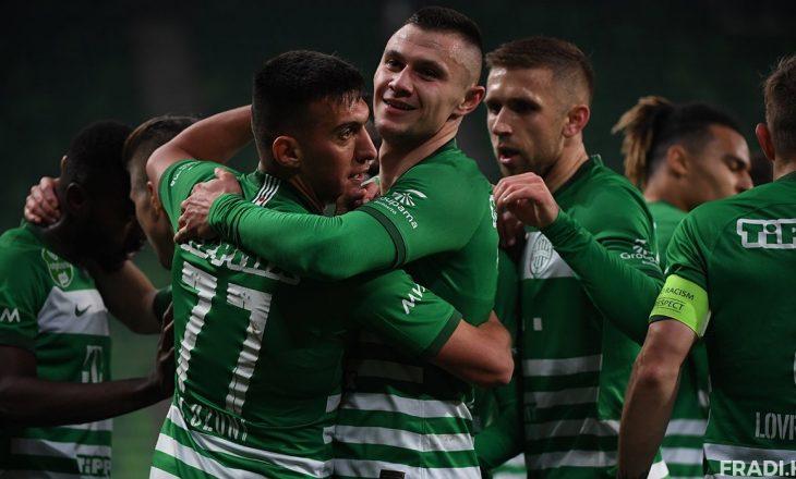 Uzuni shënon dy gola, Ferencvaros shpallet kampion në Hungari