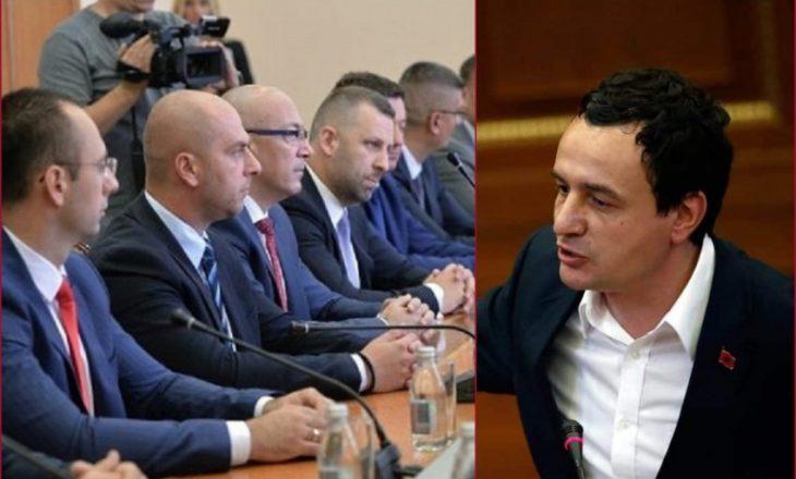 Kurti dorëzon komente në Gjykatën Kushtetuse pasi u ankua Lista Serbe që iu dha vetëm një ministri