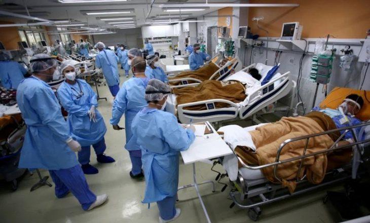Brazil: Shumica e pacientëve me COVID-19 të shtrirë në intensivë janë 40 vjet ose më të rinj