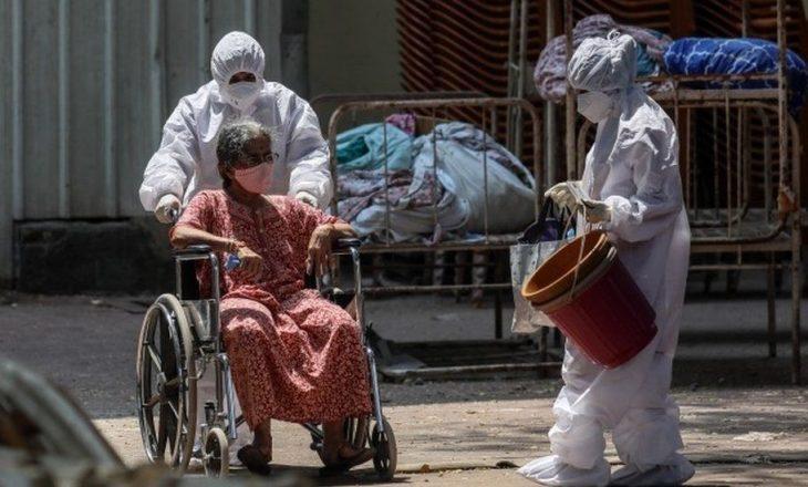 Arrin ndihma e parë me furnizime mjekësore nga Britania e Madhe në Indi