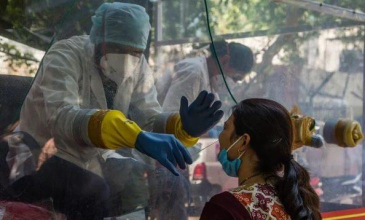 Indi: Shënohen mbi 145 mijë raste të reja me COVID-19 brenda një dite