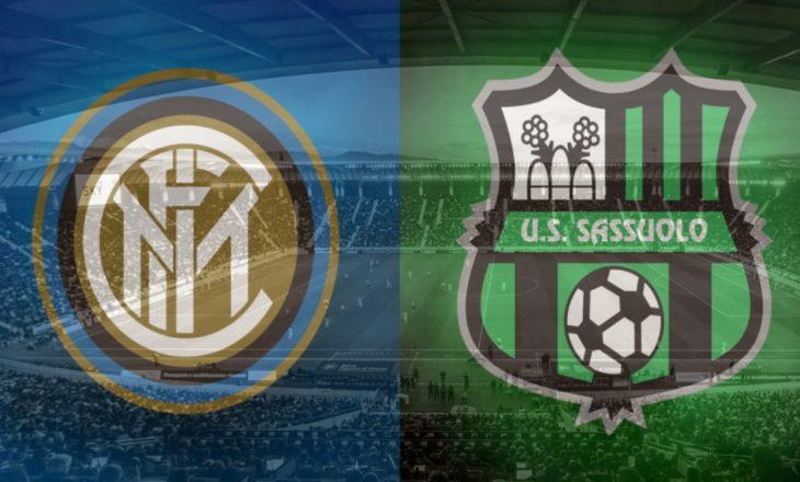 Inter vs Sassuolo – formacionet
