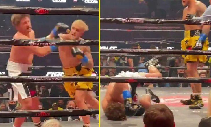 E pabesueshme: Ish kampioni i MMA nokautohet nga boksieri amator brenda raundit të parë