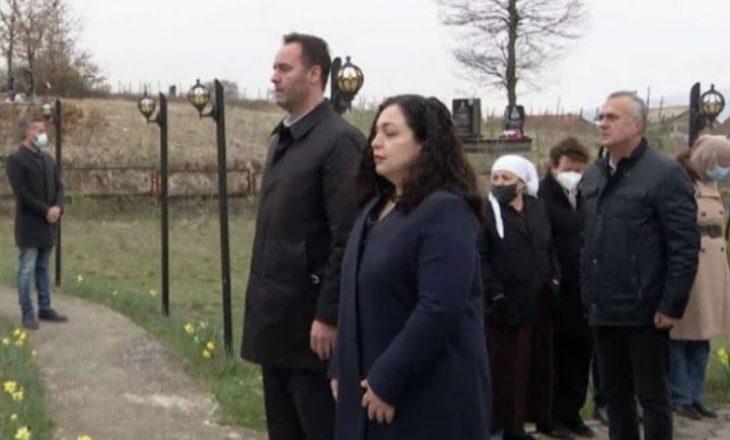 Osmani dhe Konjufca në Poklek: Kjo masakër nuk mund të quhet ndryshe përveç se gjenocid