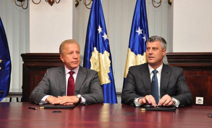 Pacolli i uron ditëlindjen ish-presidentit Thaçi