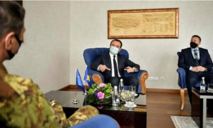 Kurti pret në takim Komandantin i KFOR-it, diskutojnë për sigurinë