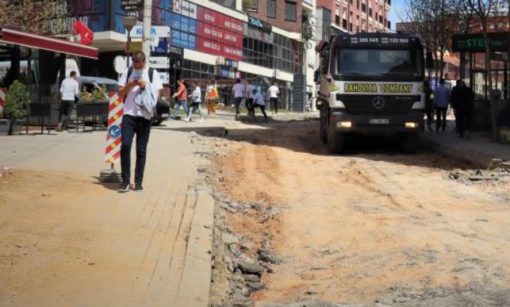 """Rruga """"Muharrem Fejza"""" në Prishtinë bëhet me rrjet nëntokësor"""