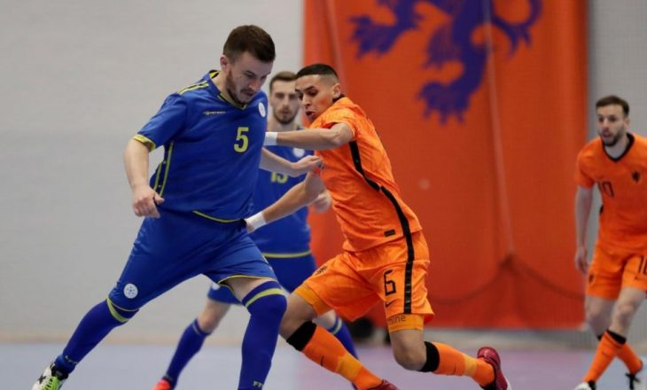 Në takimin e dytë miqësor, Kosova mposhtet nga Holanda në futsall