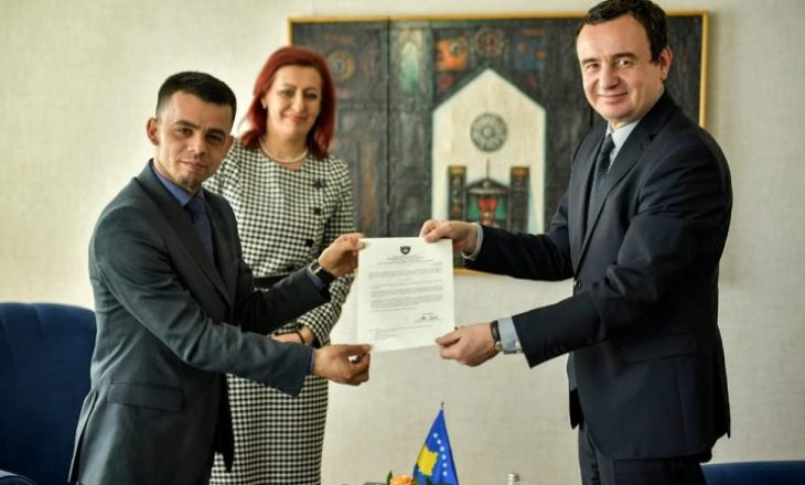 Kurti emëron zv-ministër të dënuarin për keqpërdorim të detyrës zyrtare