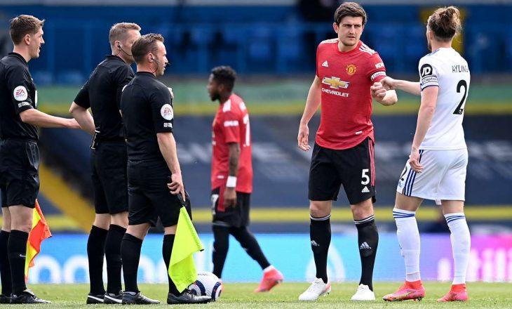 Manchester United dhe Leeds United ndajnë pikët