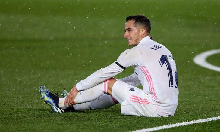 Lucas Vasquez i shtohet listës së lëndimeve te Reali i Madridit