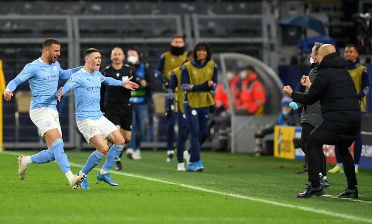 City mposht Dortmundin me përmbysje, kalon në gjysmëfinale të Championsit