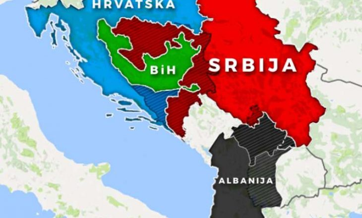 """Nga Bosnja thonë se dokumenti slloven për ndryshimin e kufijve ka origjinën te """"kuzhina shqiptare"""""""