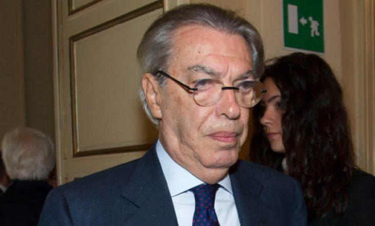 Ish-presidenti i Interit, Moratti: Super Liga Europiane ishte projekt i dështuar që nga fillimi
