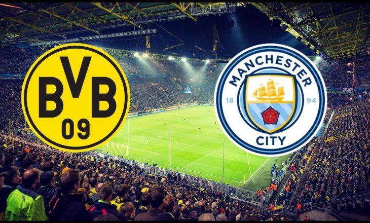 Borussia Dortmund vs Manchester City – formacionet zyrtare