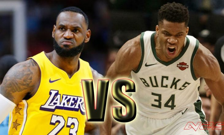 Milwaukee Bucks mposht Lakers – rezultatet në NBA