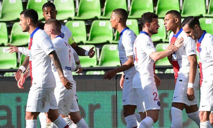 PSG-ja mposht Metzin si mysafir, parisienët ngjiten në krye të klasifikimit në Ligue 1