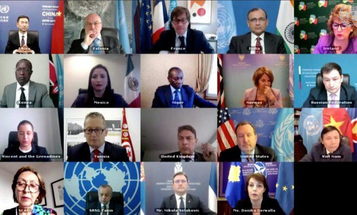Ndërprehet mbledhja virtuale e OKB-së, Rusia kërkon nga Gërvalla ta largojë flamurin e Kosovës
