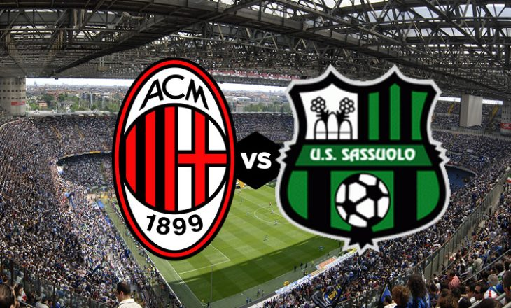 Milan vs Sassuolo – formacionet zyrtare të sfidës në Serie A