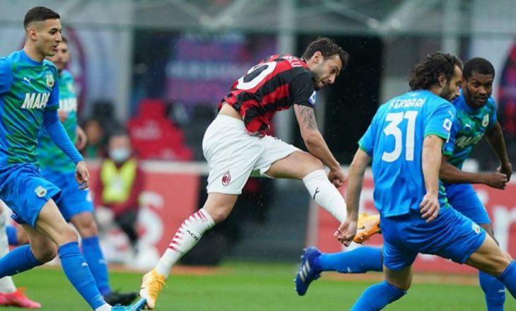 Milan mposhtet në shtëpi me përmbysje nga Sassuolo, Raspadori hero i mysafirëve
