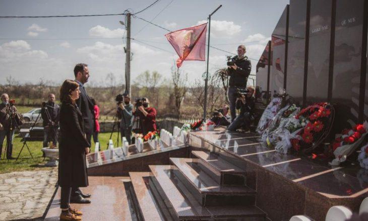Konjufca dhe Bogujevci bënë homazhe në Lybeniq